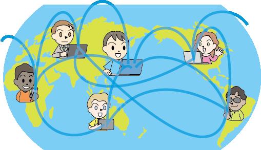情報通信白書 for Kids:暮らしを支えるインターネット:世界と ...
