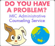 HP用バナー DO YOU HAVE A PROBLEM? MIC Administrative Counseling Servise (PDF)