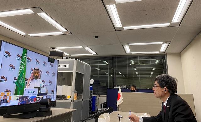 総務省|G20デジタル経済大臣会合(テレビ会議)(令和2年7月22日)
