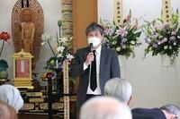 神戸空襲犠牲者合同慰霊祭の様子